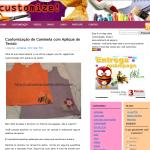 Meu blog sobre customização