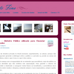 Novo Tema e Blogs para Ler