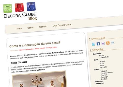 Blog de Decoração: Decora Clube