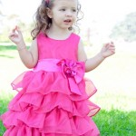 Vestidos para daminhas de casamento e festas infantis
