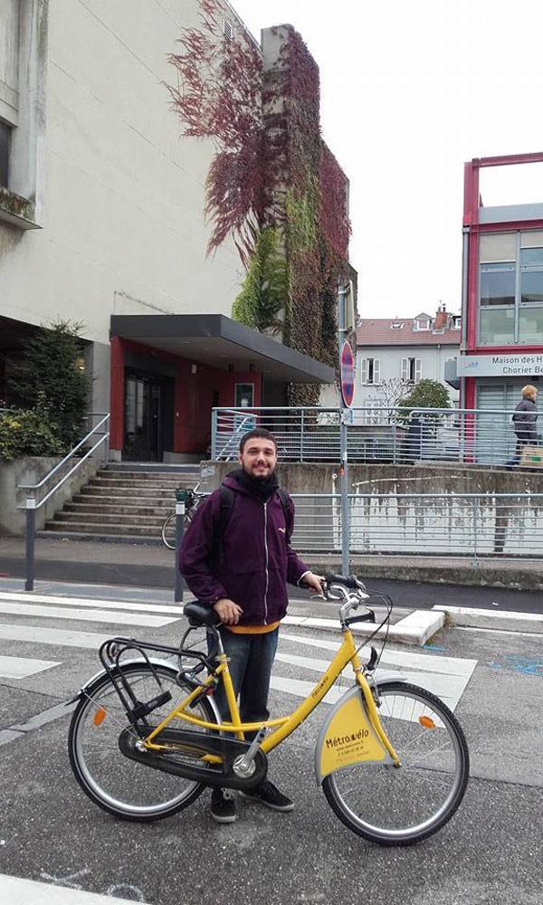 Alugar bicicleta na França