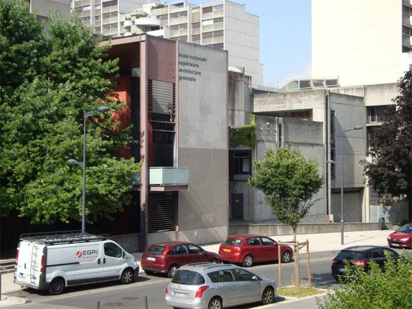 Escola de Arquitetura em Grenoble, França