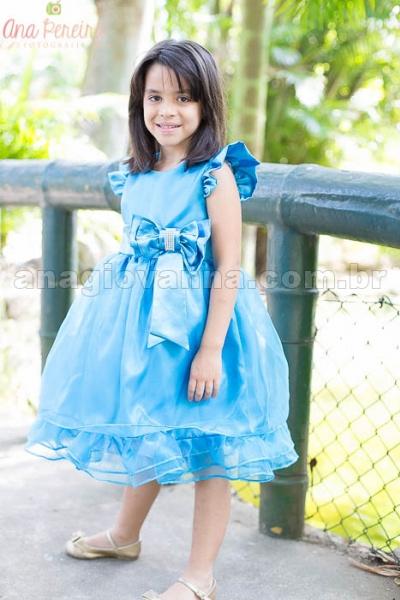 Vestidos temáticos de Frozen para meninas