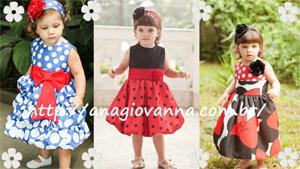 Ana Giovanna - Vestidos para Meninas