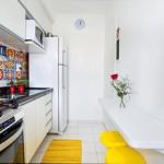 Como amar a sua cozinha pequena