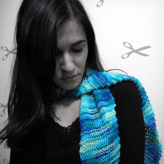 Meu cachecol azul - Mariely Del Rey