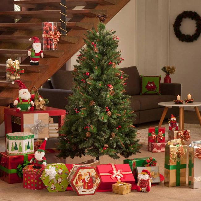 10 ideias para ter uma decoração de Natal inesquecível