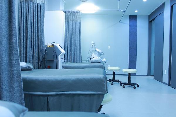 decoração de hospital