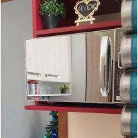 Dicas de decoração de cozinha com microondas