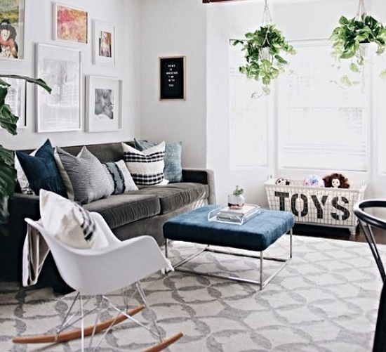 Dicas para decorar e organizar a sala no dia a dia