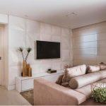 Decoração de tv na parede