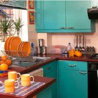 Decoração de cozinha vintage